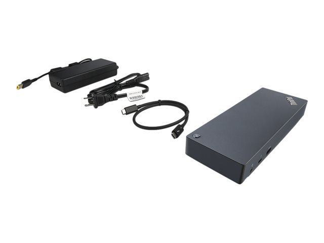 Lenovo ThinkPad Thunderbolt 3 Dock - port replicator - VGA, HDMI, 2 x DP